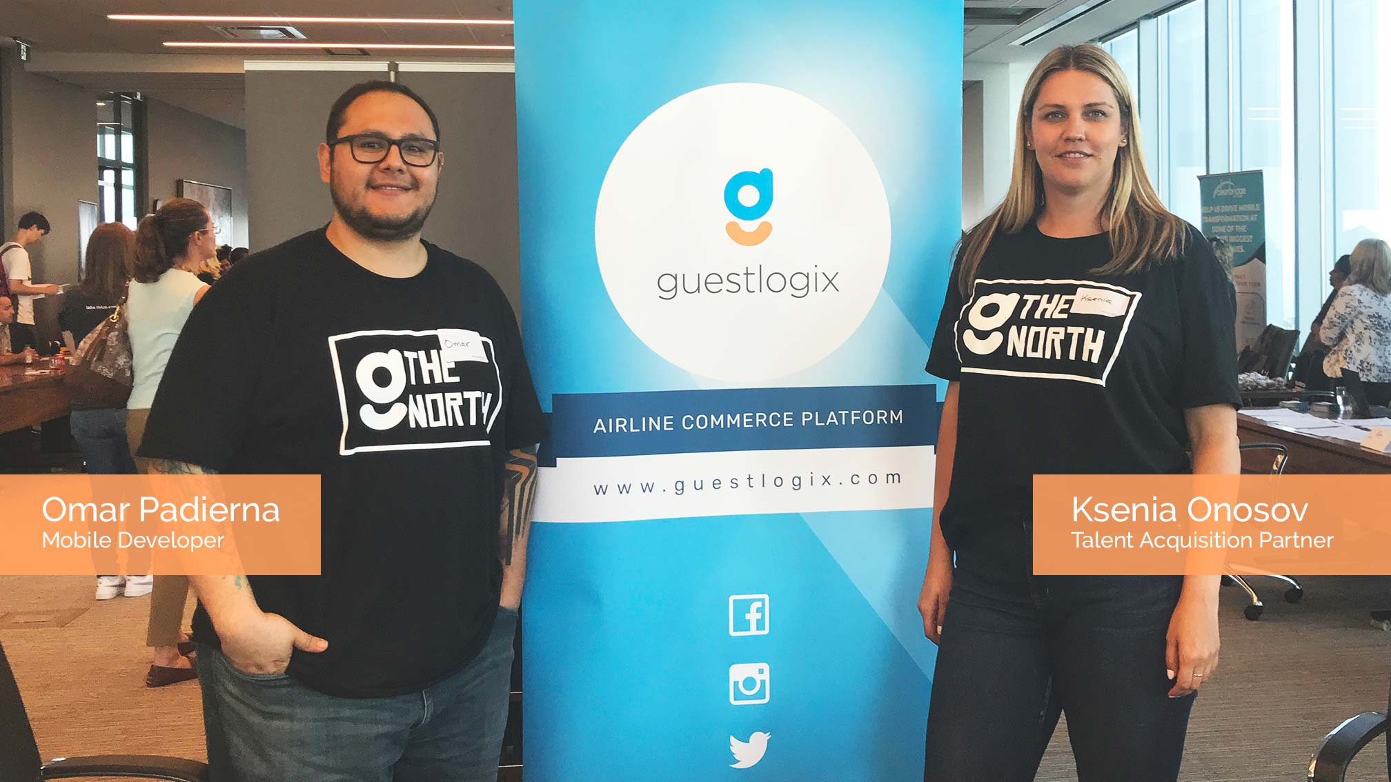 Guestlogix Team at WomenHack