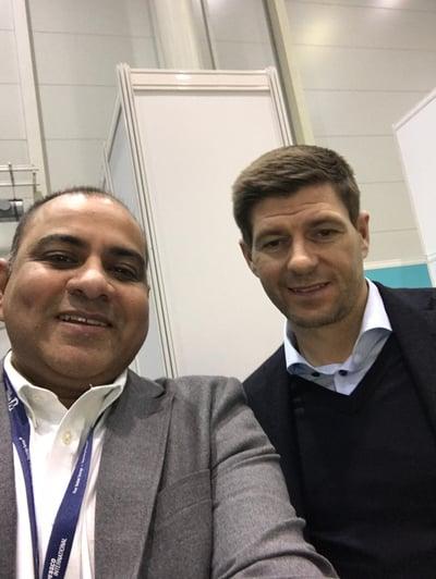 Guestlogix and Steve Gerrard