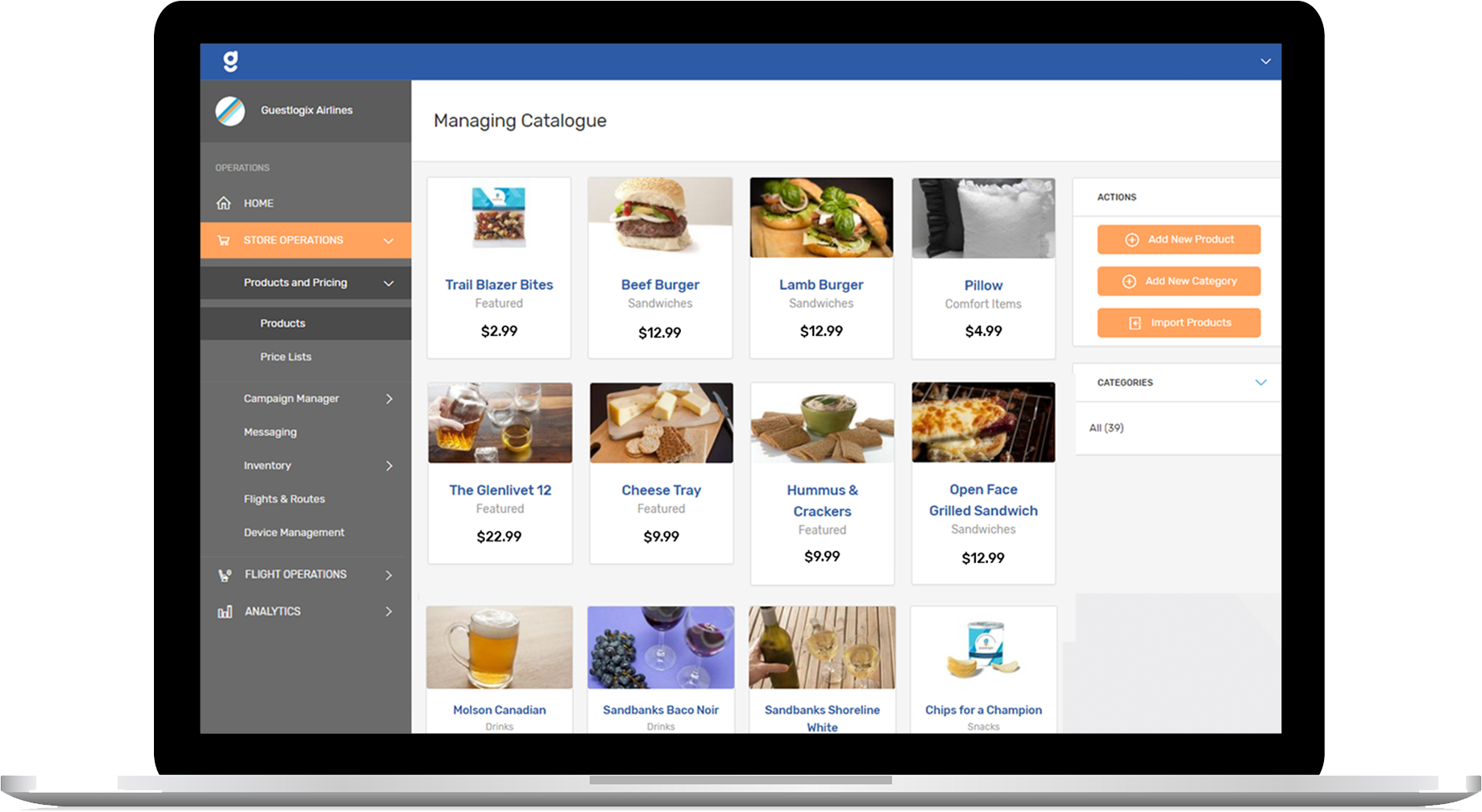 Manage operations and build  campaigns all in one platform