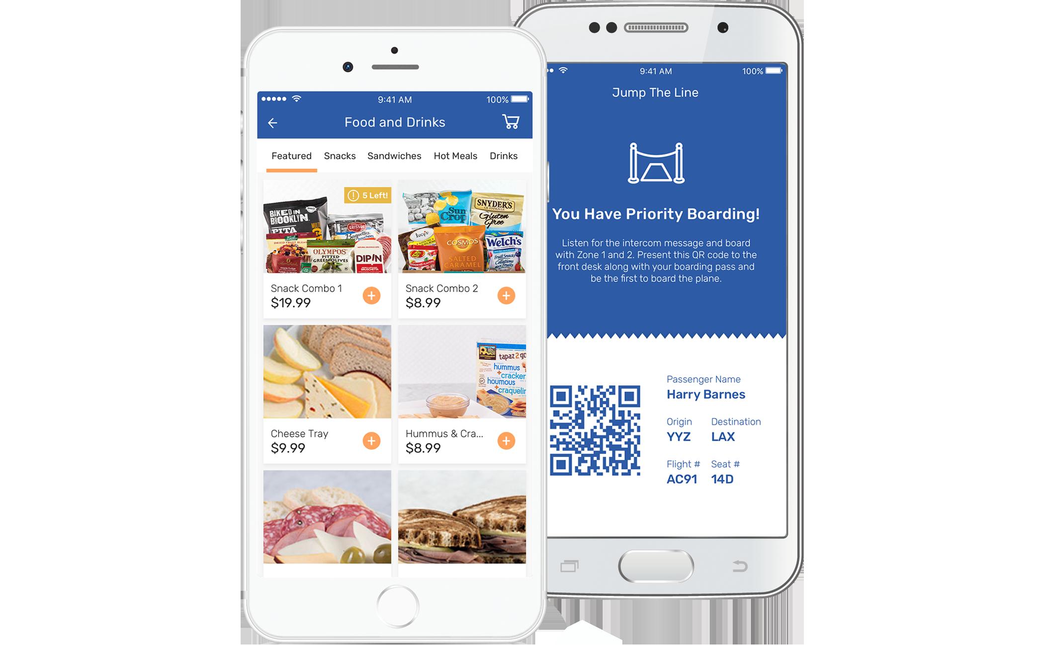 Passenger Experience App
