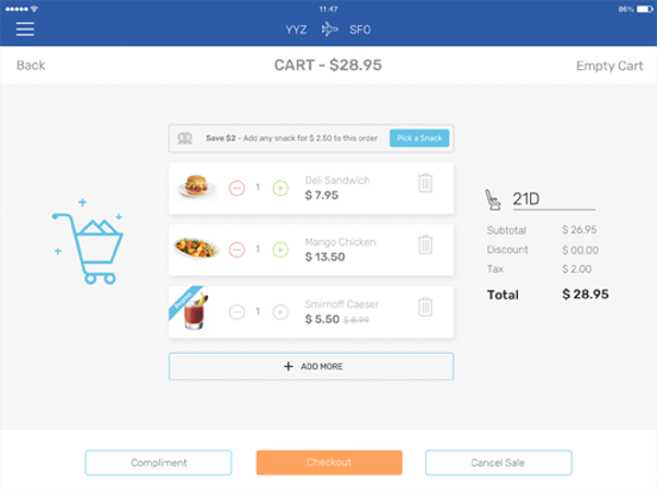 A better onboard retail solution